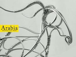 Arabia 阿拉伯  铁丝