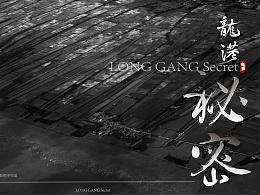 《龙港秘密》字体/海报设计