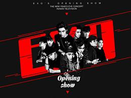 湖南卫视[2014-2015跨年演唱会舞台视觉设计](部分曲目)