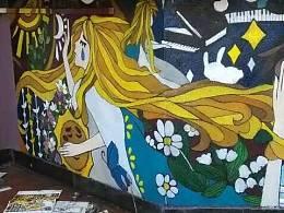 咖啡馆壁画