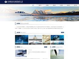 中新融创资本管理有限公司官网页面设计
