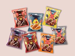 川味食品插画包装设计