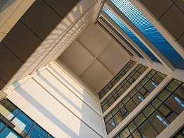 安徽工程大学校园景色-几何
