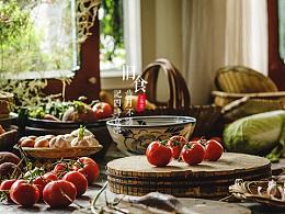 一组西红柿