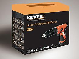 【包装】kevex自有品牌手钻设计
