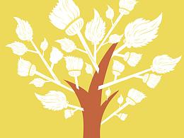马亚设计【树系列】海报设计