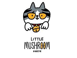 乐递表情贴纸-蘑菇仔