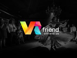 【VRfriend】标志设计