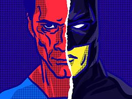《龙虎蛋黄派》第七集【超人大战蝙蝠侠】之 友情岁月
