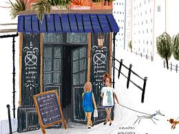 转角遇到咖啡店