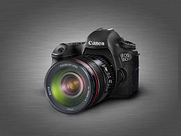 UI教程第一弹:佳能6D相机写实制作
