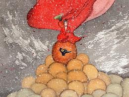 弥龙的另一个世界,手绘水彩系列-《弥之境》· 遇