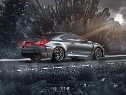 [汽车CG渲染作品赏析]BMW与LEXUS的魅力展示