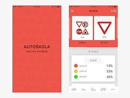 UI临摹-Driving school app