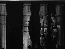 """埃及卢克索神庙建筑投影秀""""Reflection"""""""