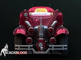 红骷髅专用车