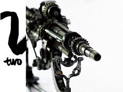 九素(北京)原创机械装置雕塑---枪火系列II