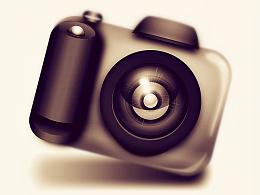 2010年创作相机图标一枚