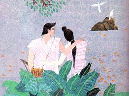 中国民俗故事:竹筒酒