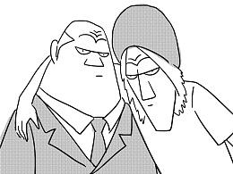 短篇漫画—《老同学》