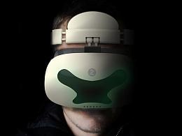 《头戴式VR产品造型设计》 西华大学 by半桥 #青春答卷2016#