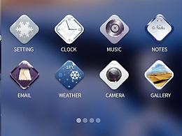 夜雪之美icon