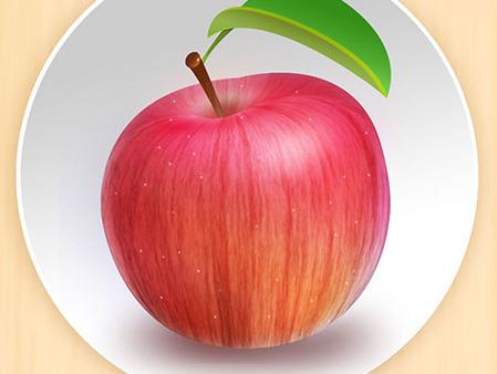 小苹果_小苹果拟物图标 icon