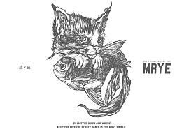 原创黑白插画---《好基友》---MRYE