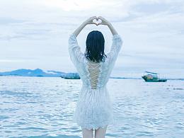 我曾在海边看见了自由