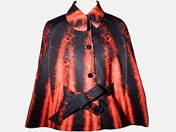 LASOMBRA2016秋冬全印花太空棉外套