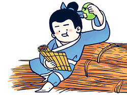 #小矛毁童年#凿壁借光的故事13.  by _小矛