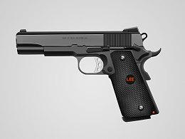 写实图标~1911手枪
