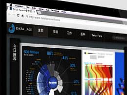 DataFace数据可视化网络社区界面设计