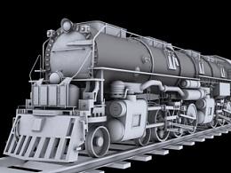 3D建模-火车