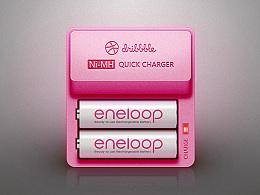 Sketch拟物习作·Dribbble Charger追波充电器