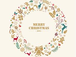 【东方园林】品牌设计圣诞贺卡