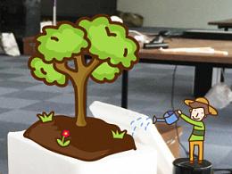 植树节去种树