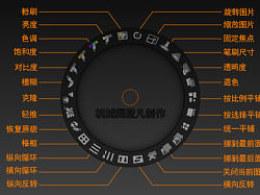 ZBrush4纹理绘制控制器中文注释