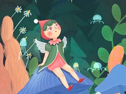 procreate·《little fairyz》