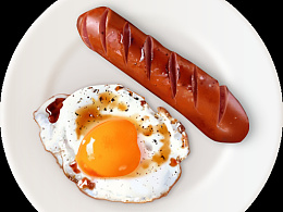 超写实图标-早餐