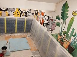 墙绘~儿童区