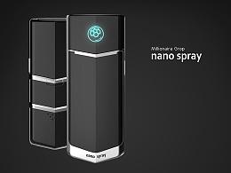 纳米美容保湿喷雾器 --意臣工业设计innozen