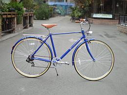 classico通勤复古自行车