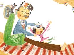 小绘本《爷爷是我的抱抱熊》