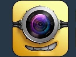 小黄人相机icon临摹