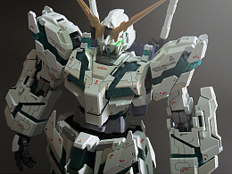 PG RX-0 Gundam Unicorn 独角兽高达 最终决战ver. No3401