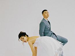 婚纱照也可以拍的很有趣