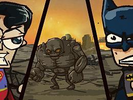《别带我乱穿》第二集 真正吊打超人的不是蝙蝠侠!