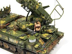 1/35 戰鬥民族 SA-6 防空導彈車