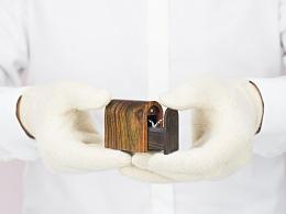 《恒家之造》 创意纯手工木质戒指盒 创意纪念碑戒指盒